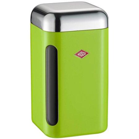 Wesco Wesco Voorraadbus Vierkant 1.6L Lime Groen