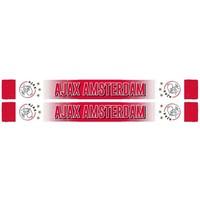 Sjaal ajax rood/wit Amsterdam spikkel