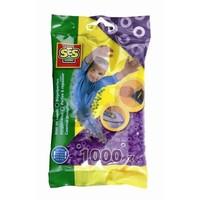 Strijkkralen SES 1000 stuks paars