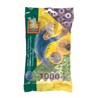 Strijkkralen SES 1000 stuks mintgroen