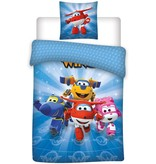 Super Wings Dekbedovertrek Super Wings 140x200/60x70 cm