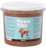 Creotime Foam Clay Creotime bruin 560 gram