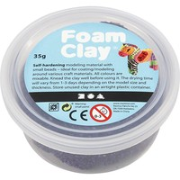 Foam Clay Creotime glitter paars 35 gram