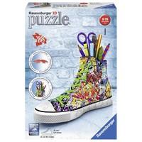 Puzzel Sneaker Grafitti Print 3d: 108 stukjes