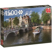 Puzzel Amsterdam Herengracht 1500 stukjes