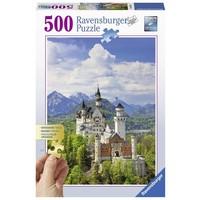 Puzzel Neuschwanstein 500 stukjes