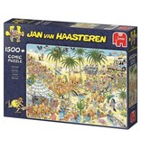 Jan van Haasteren Puzzel Jan van Haasteren De Oase 1500 stukjes