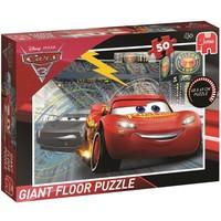 Puzzel Cars vloer 50 stukjes