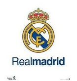 Real Madrid Poster real madrid 40x50 cm logo