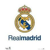 Poster real madrid 40x50 cm logo