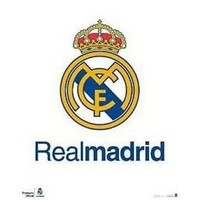 Poster real madrid 40x50 cm logo