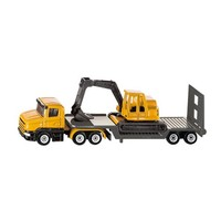 Low Loader with Excavator SIKU