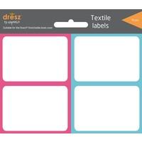 Boekenkaft etiketten Dresz 16 labels Colour