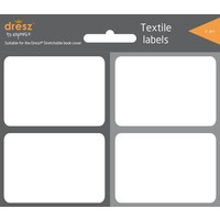 Boekenkaft etiketten Dresz 8 labels Grey