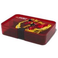 Sorteerkoffer LEGO Ninjago rood