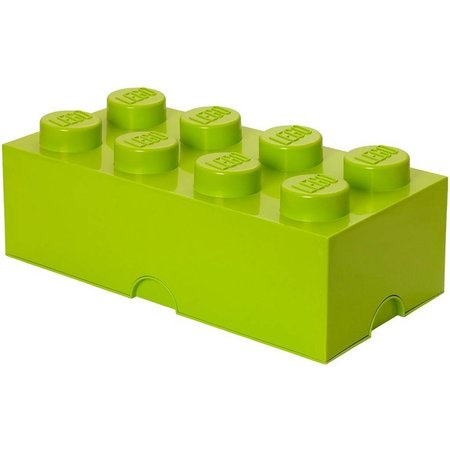 LEGO License Opbergbox LEGO DESIGN brick 8 zand groen SAND