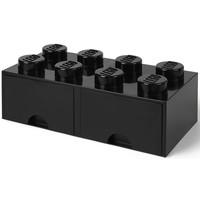 Opberglade LEGO brick 8 zwart