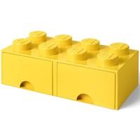 Opberglade LEGO brick 8 geel