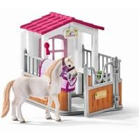 Schleich Paardenbox met Lusitano merrie 42368 - Paard Speelfigurenset - Horse Club - 15 x 30 x 17 cm