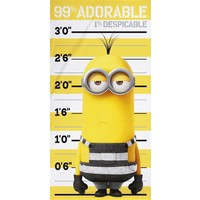 Badlaken Minions adorable 70x140 cm