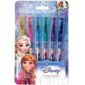 Gelpennen Frozen: 6 stuks