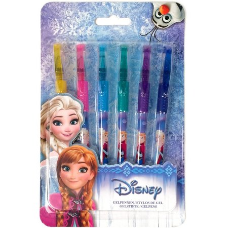 Frozen Gelpennen Frozen: 6 stuks