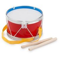 Trommel New Classic Toys rood 17x17x11 cm