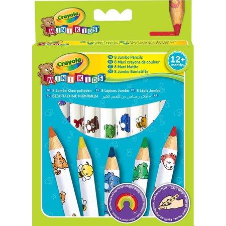 Crayola Kleurpotloden Crayola 8 stuks
