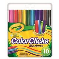 Viltstiften colorclicks Crayola 10 stuks
