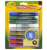 Crayola Glitterlijm Crayola set van 9