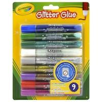 Glitterlijm Crayola set van 9