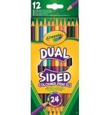 Crayola Kleurpotloden duo Crayola 12 stuks