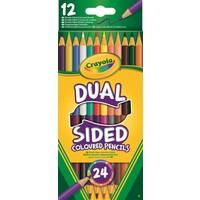 Kleurpotloden duo Crayola 12 stuks