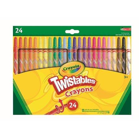 Crayola Draaiwaskrijt Crayola 24 stuks