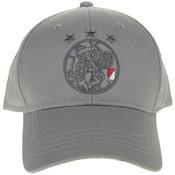 Cap ajax senior grijs oude logo