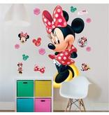 Minnie Mouse Minnie Mouse Muursticker  122 cm