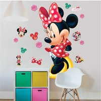 Minnie Mouse Muursticker  122 cm