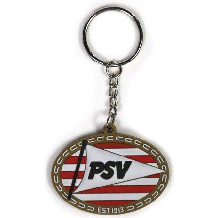 PSV Eindhoven Sleutelhanger psv rubber logo