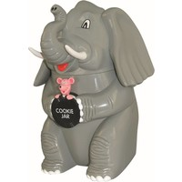 Pratende koektrommel Dresz olifant