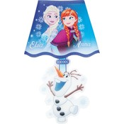 Muursticker Frozen met LED verlichting 18x26 cm