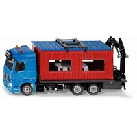 Mercedes Benz bouwcontainer transporter SIKU