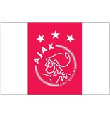 AJAX Amsterdam Vlag ajax groot 100x150 cm rood/wit logo
