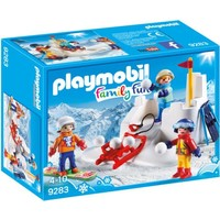Sneeuwballengevecht Playmobil