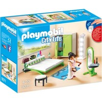 Slaapkamer met make-up tafel Playmobil