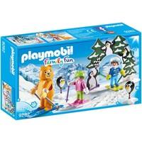 Skischooltje Playmobil