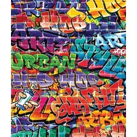 Behang graffiti Walltastic 245x203 cm