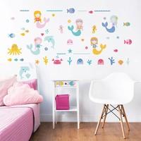 Muursticker zeemeerminnen Walltastic 56 stickers