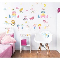 Muursticker unicorn Walltastic 48 stickers