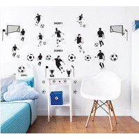 Muursticker voetbal Walltastic 40 stickers