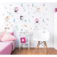 Muursticker Woodland bos Walltastic 36 stickers